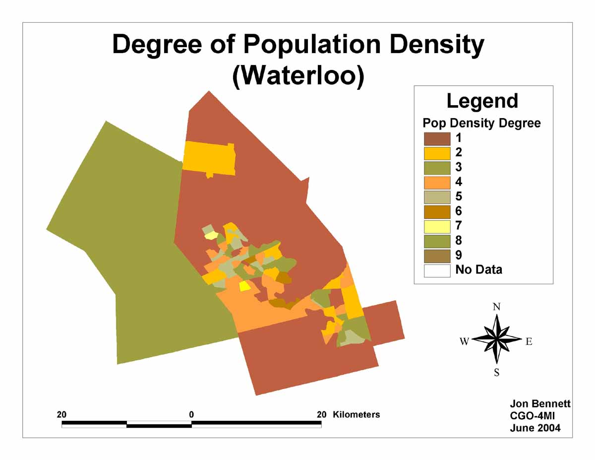 how to find population density formula