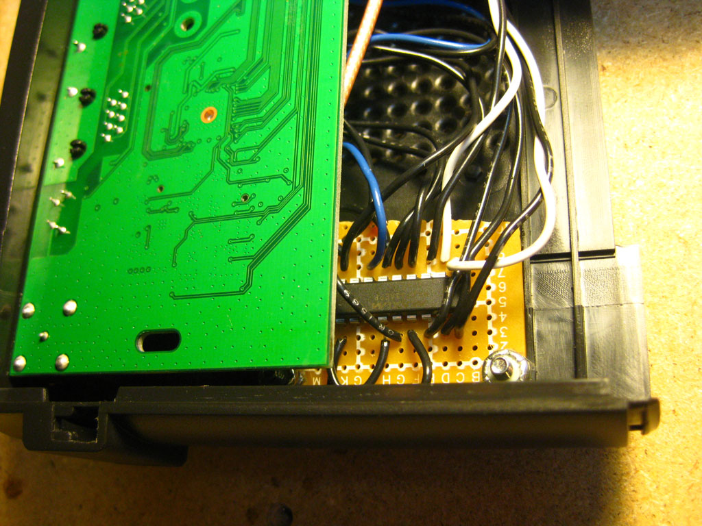 Wrt54gl Dual Serial Port And Sd Card Mods Wiring Diagram For Wrt54g To Secure The Circuit I Bolted It Top Of Router Theres Plenty Room Both Pcb New